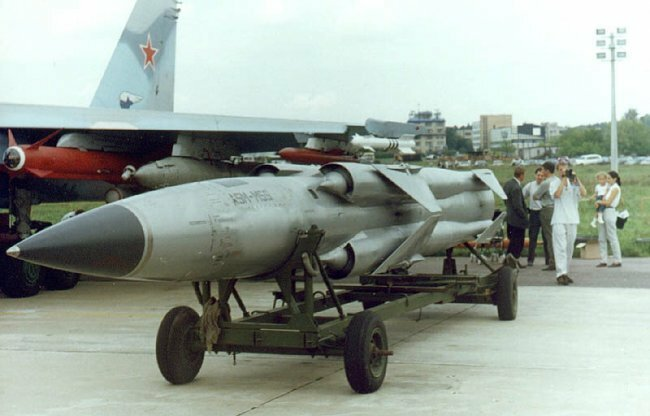 Mosquito (SS-N-22, Sunburn, ASM-MSS), anti-ship missile system with a cruise missile 3М-80