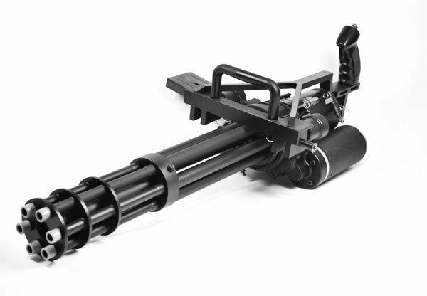 Нафиг двуствольный автомат.  Уже давно есть например шестиствольный пулемет, и 4х зарядная ракетница.