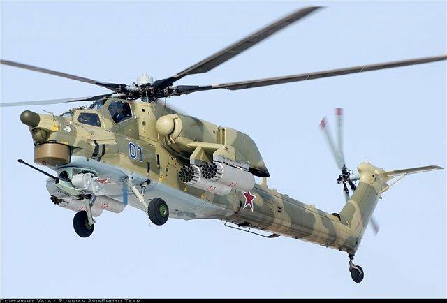 Ми-28Н и АН-64 Apache против Ка-52