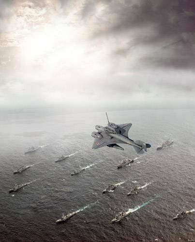 Подводные истребители и авианосцы