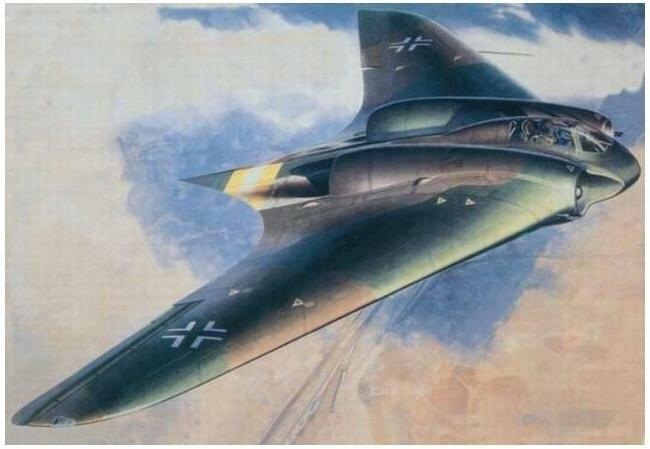 """Horten Ho 229, """"Летающее Крыло"""""""
