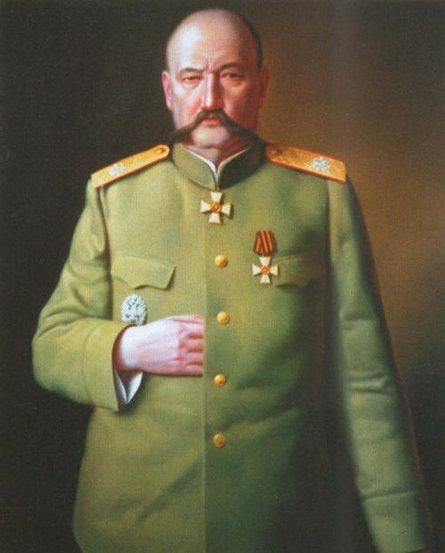 El último comandante de la escuela de Suvorov.