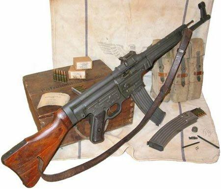 История возникновения штурмовой винтовки  МР-43