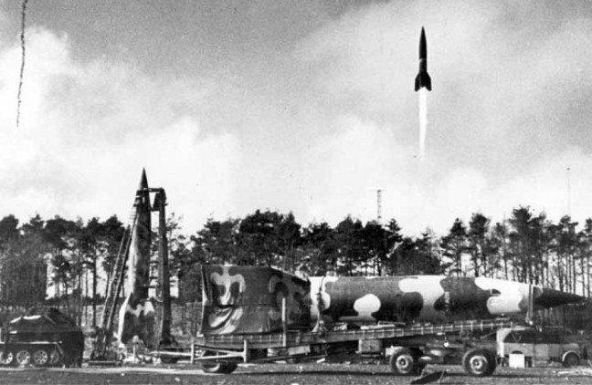 Ракеты ФАУ — «оружие возмездия»
