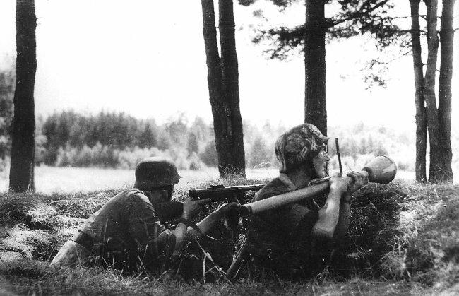 Panzerfaust, Panzerknacke, Panzerschrec
