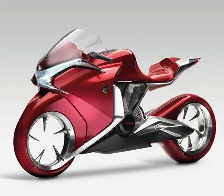 Мотоцикл-концепт Honda V4