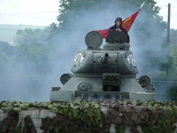 От Т-34 до Индийского океана