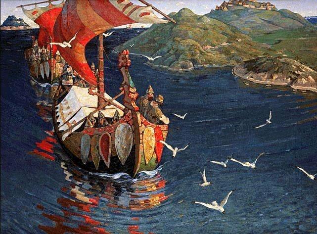 Русский флот был создан не Петром I