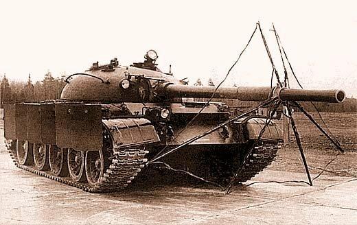 Sowjetischer komplexer Schutz des Panzers ZET-1