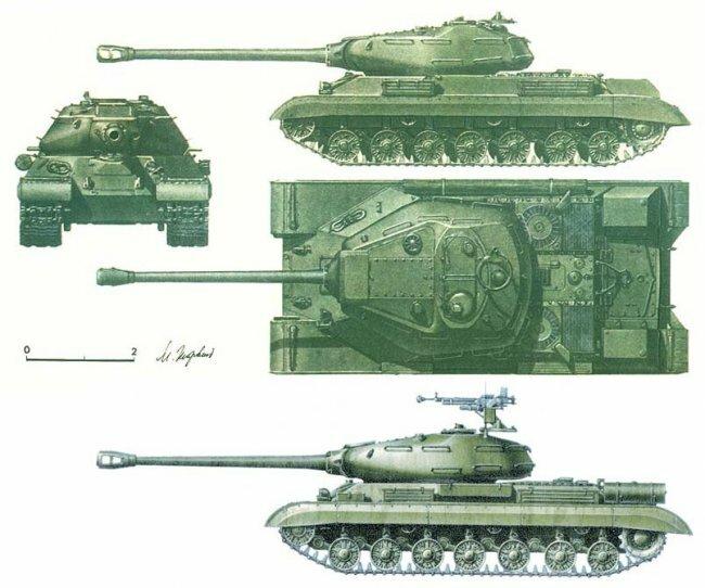 Танк ИС-4: самый тяжелый серийный в СССР