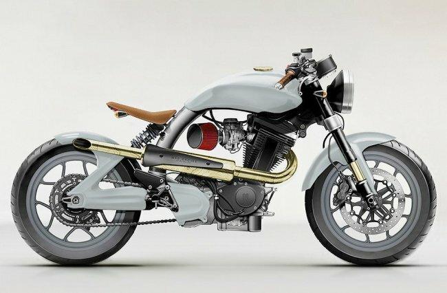 Мотоциклы Mac от дизайнеров Carefully Considered