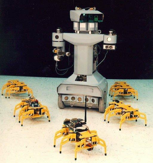 Человекоподобные боевые роботы
