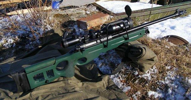 "Izhevsk weapons. Sniper rifle ""CB-98"""