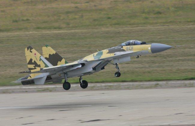 Истребитель СУ-35БМ