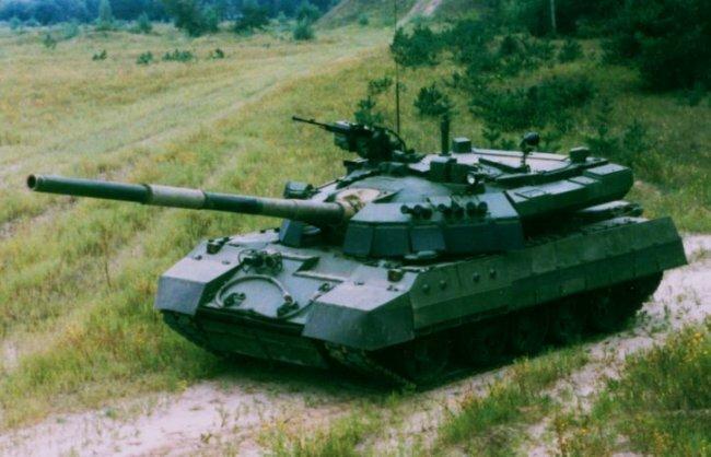 Танк Т-55АГМ. Украина