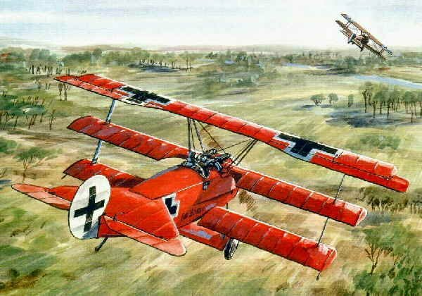 Red Baron Richthofen:歴史の謎