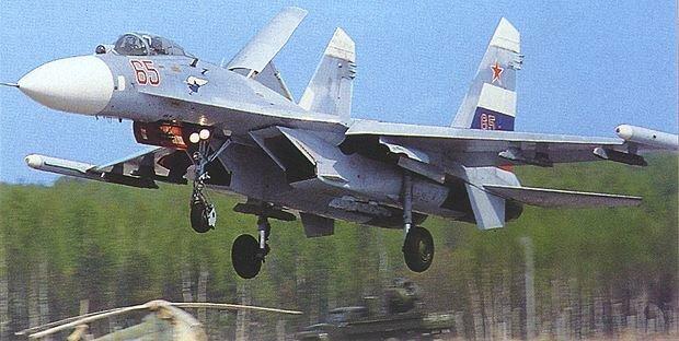 Фронтовой истребитель Су-27, Flanker-B (Маргинал)