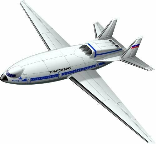 Самолёт с атомным двигателем