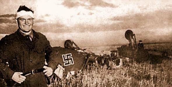 Воздушный таран - кошмар немецких асов
