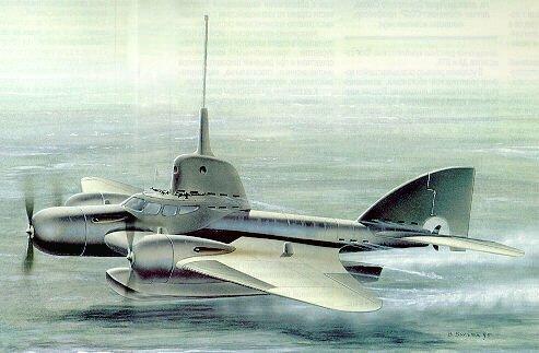 Проект летающей подводной лодки