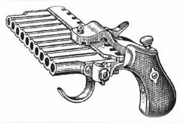 Старая перечница: Ручное стрелковое оружие