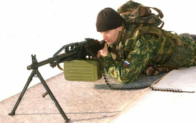 Nietos desconocidos de Kalashnikov. Pecheneg es genial
