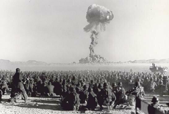 Учения с применением ядерного оружия