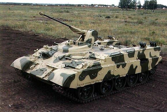 БТР-Т из танка