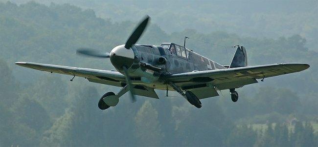 Messerschmitt Bf 109G - один из лучших самолётов второй мировой