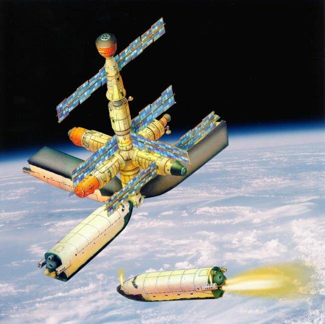 История советского военного космоса