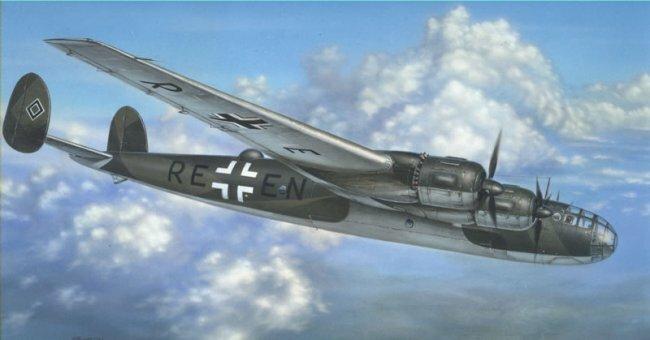 Мессершмитт Me 264 - сверхдальний разведчик и бомбардировщик