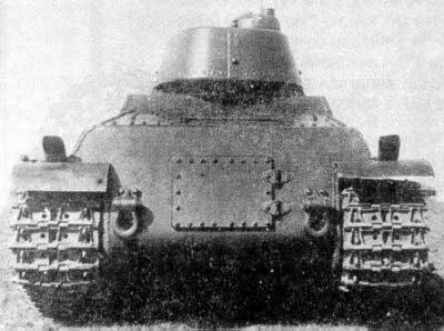 Tanque experimental pesado T-100