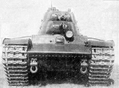 Тяжелый экспериментальный танк Т-100 » Военное обозрение