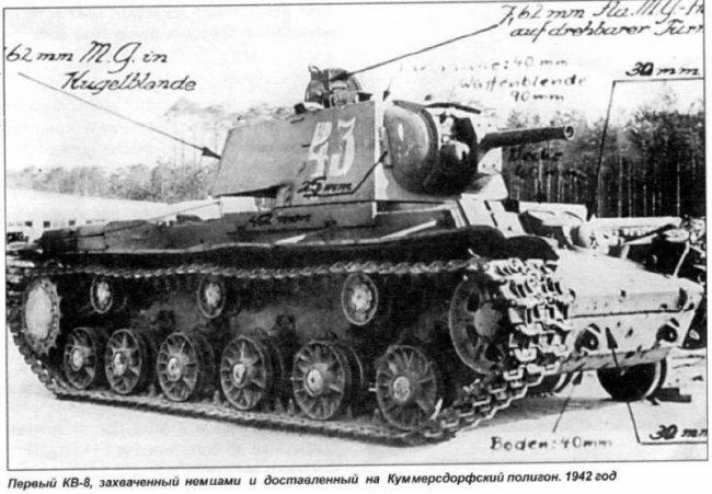 Тяжёлые танки КВ