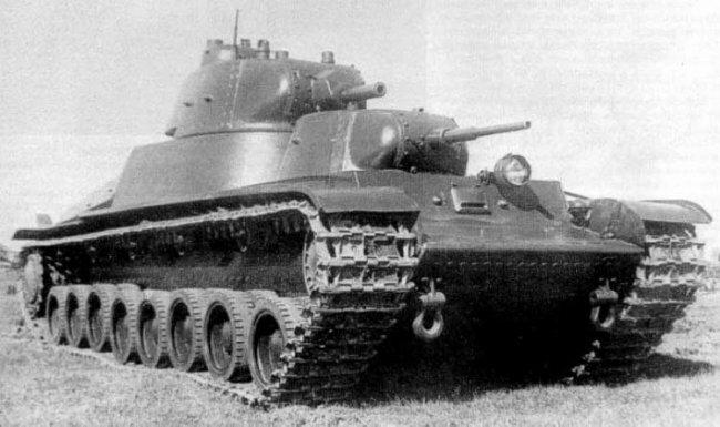 Тяжелый экспериментальный танк Т-100
