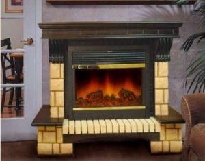 Теперь поставить электрический камин дома можно легко, просто и недорого